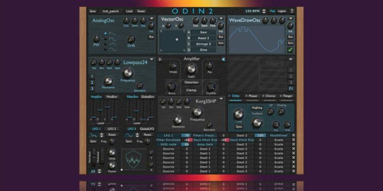 Бесплатный синтезатор TheWaveWarden ODIN2