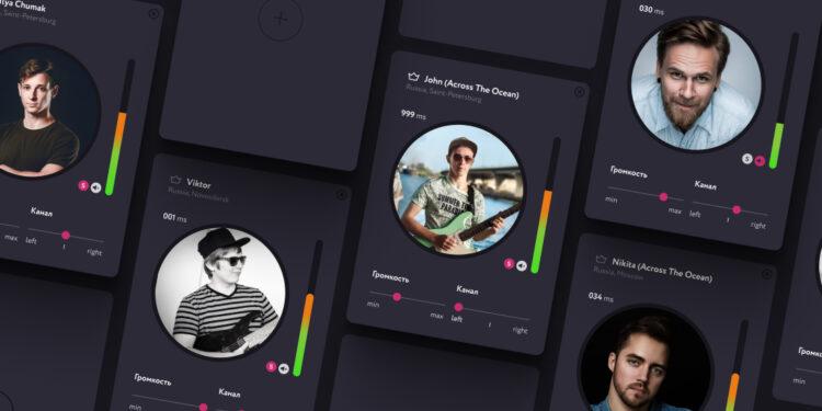 Juplin Приложение для совместного музицирования через интернет