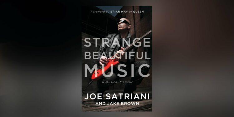 Книга Джо Сатриани Strange Beautiful Music