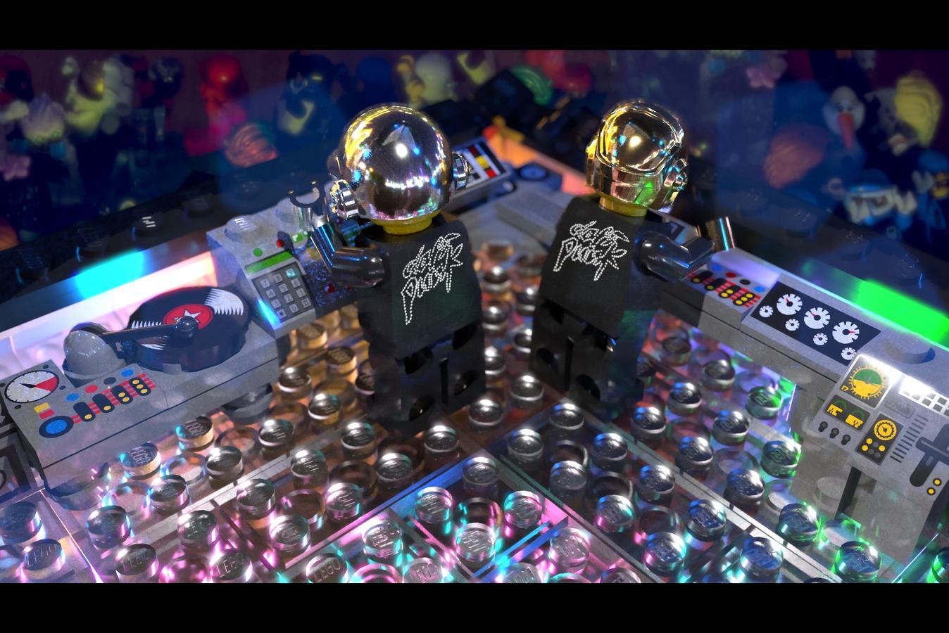 Набор LEGO Daft Punk