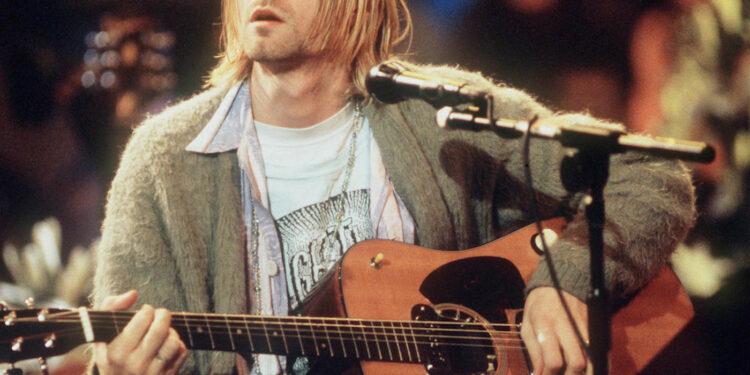 Курт Кобейн акустическая гитара