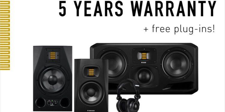 ADAM Audio расширенная гарантия