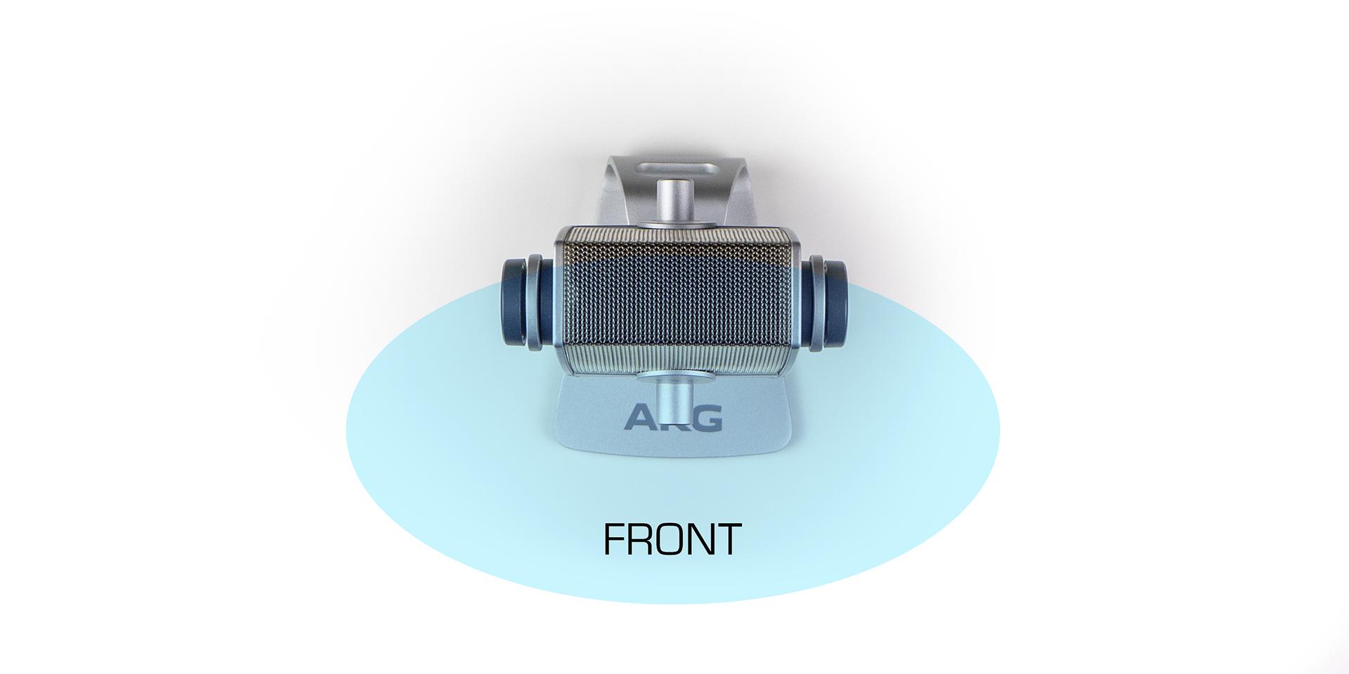 Фронтальный режим AKG Lyra