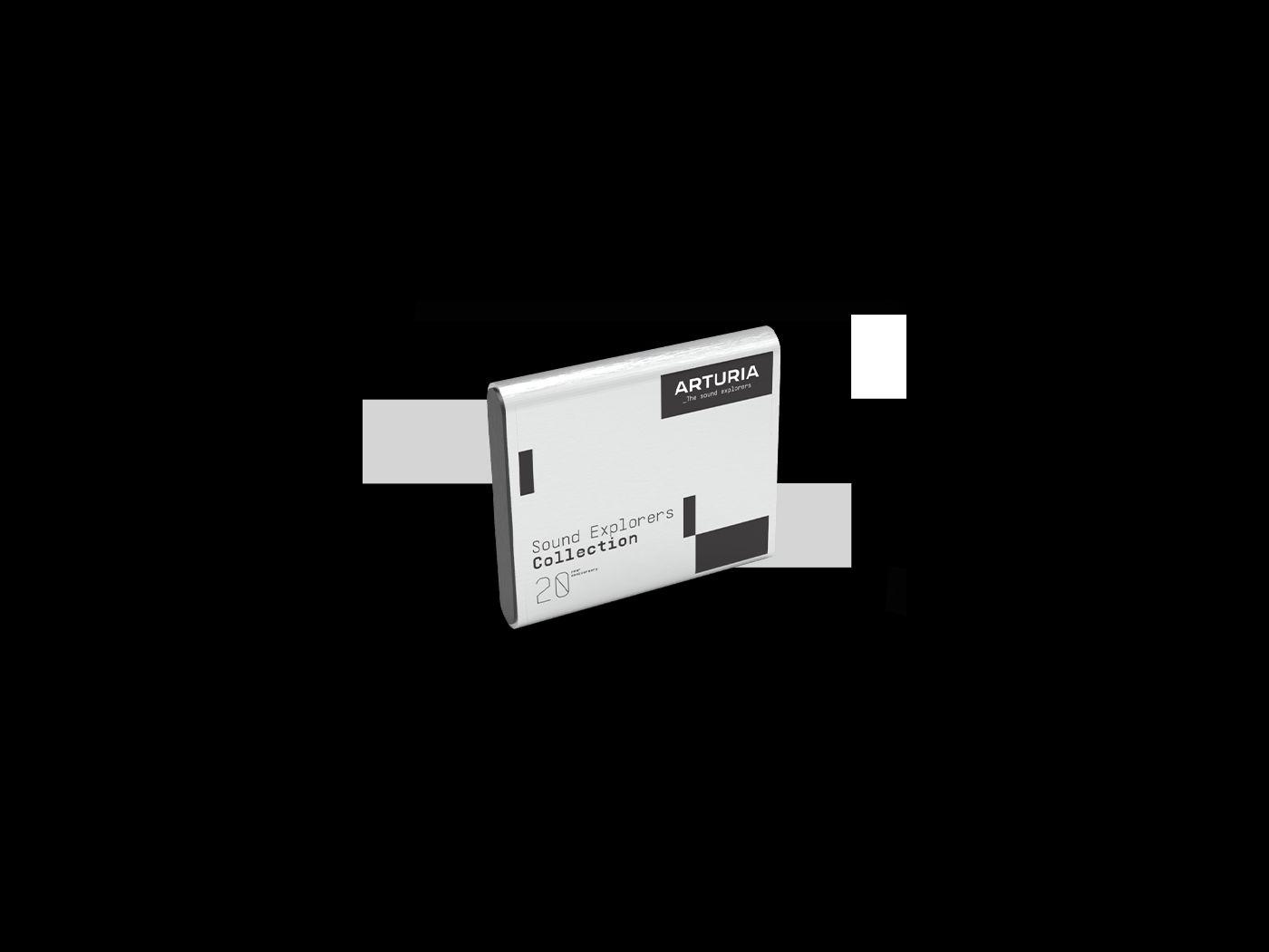 Arturia выпустила лимитированный бокс-сет Sound Explorers Collection нажёстком диске