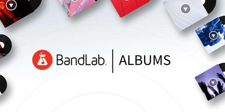 Сервис дистрибуции музыки BandLab Albums