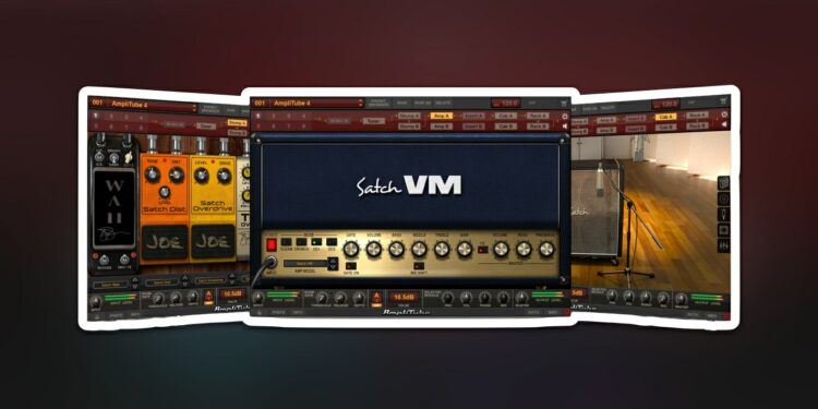 Гитарный эмулятор IK Multimedia AmpliTube Joe Satriani