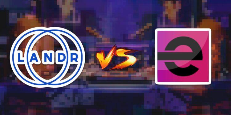 сервисы онлайн-мастеринга музыки LANDR и eMastered сравнение