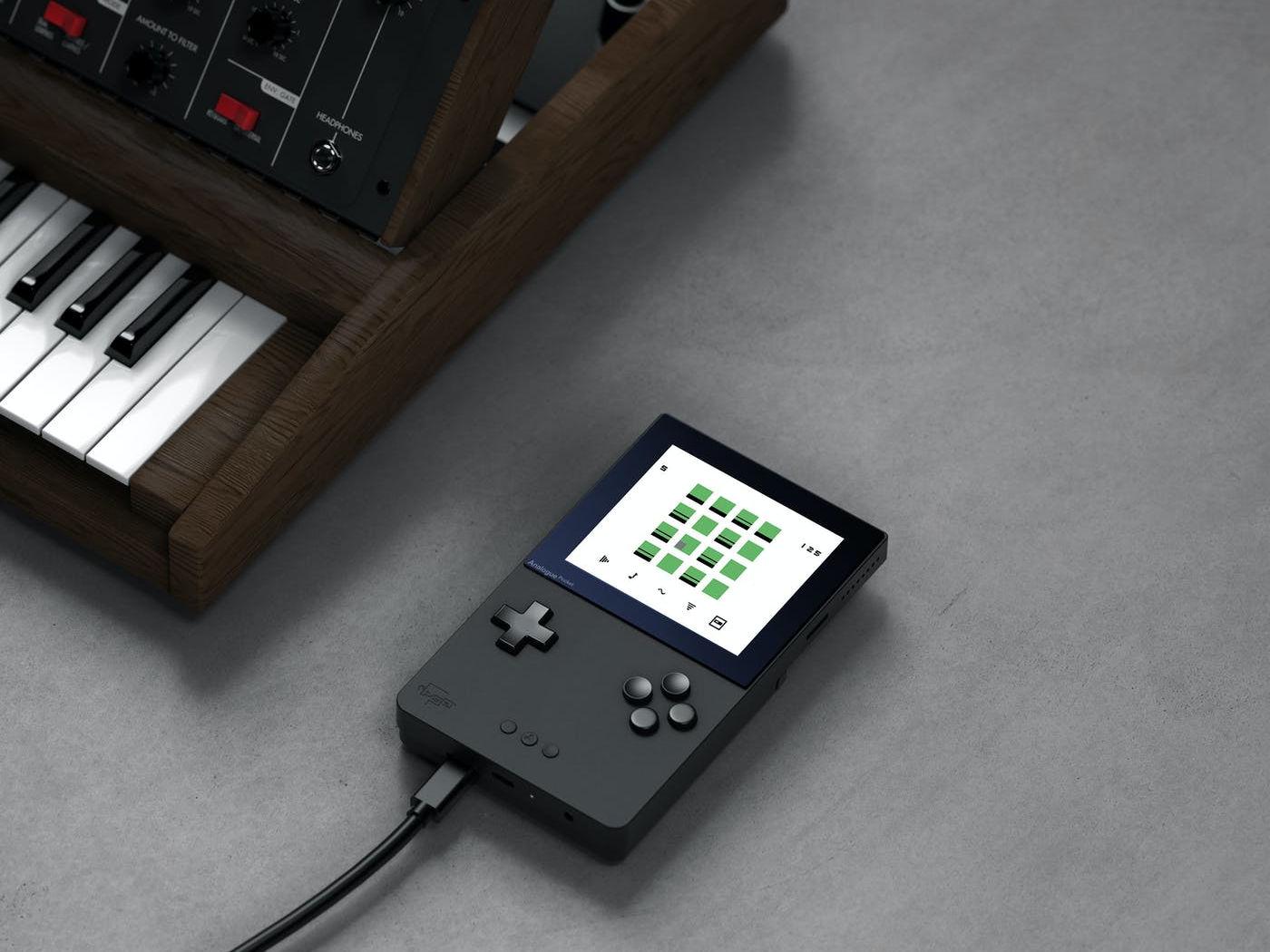 Game Boy для музыкантов: начался сбор предзаказов на карманную музыкальную игровую консоль Analogue Pocket