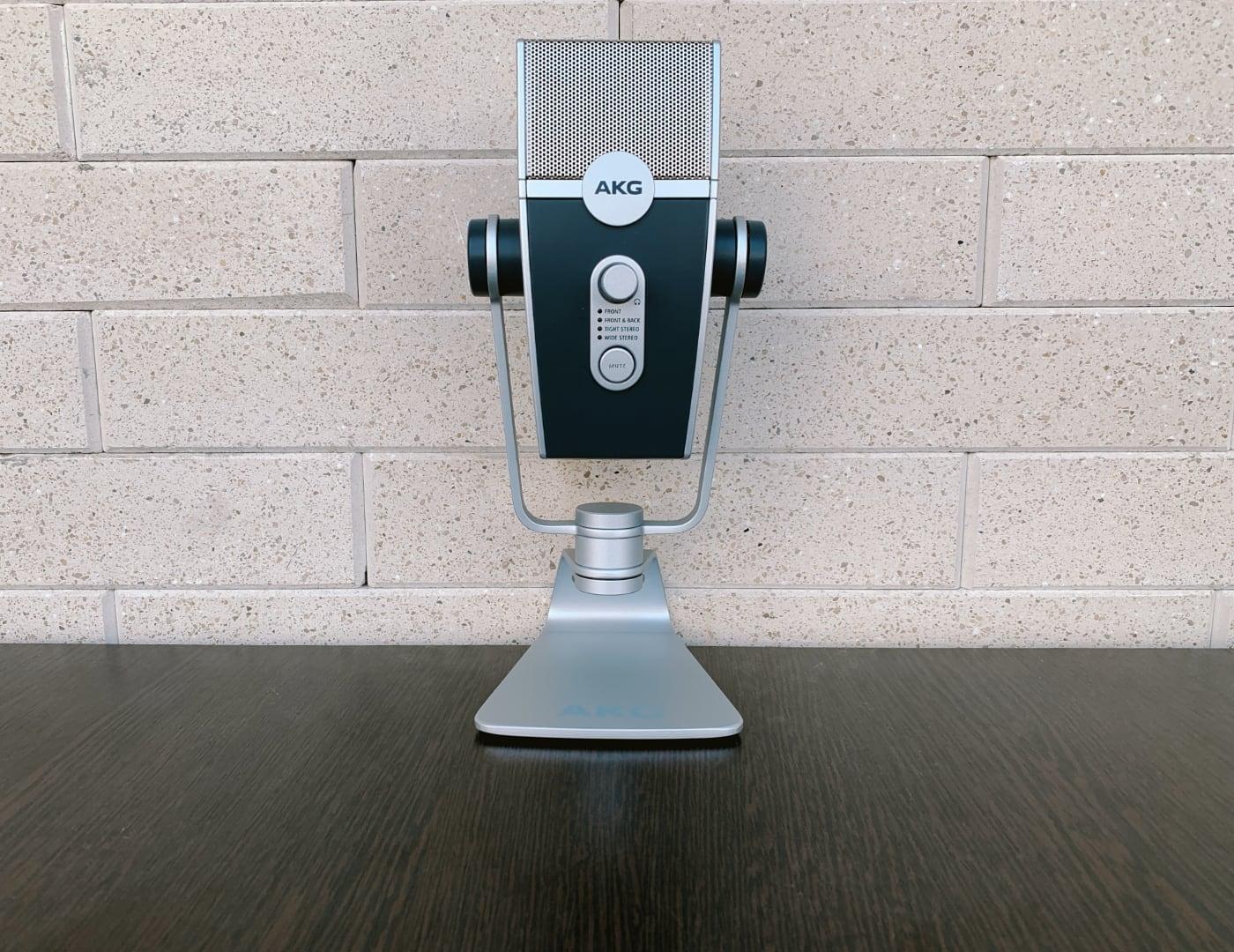 Микрофон AKG Lyra вид спереди