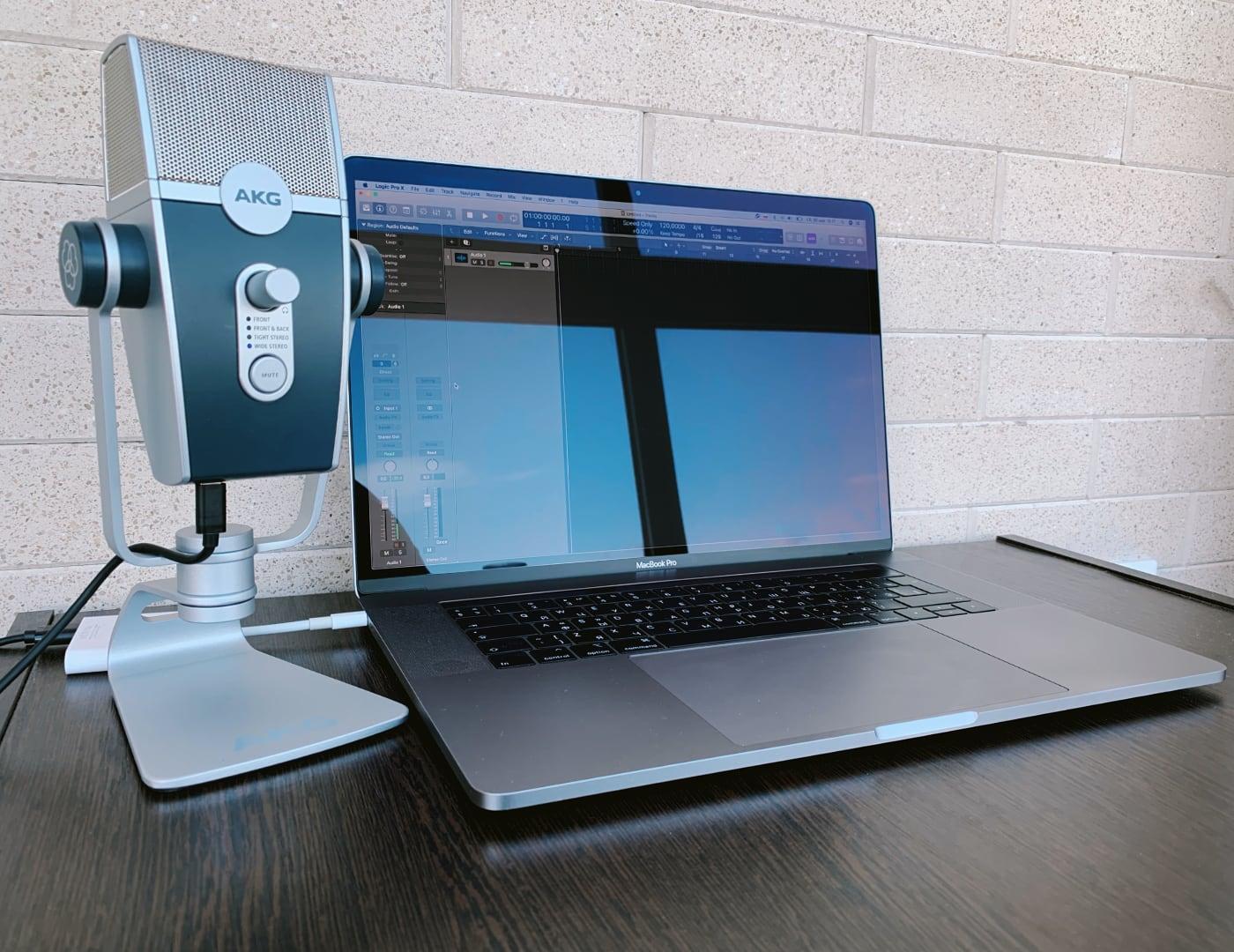 Обзор USB-микрофона AKG Lyra
