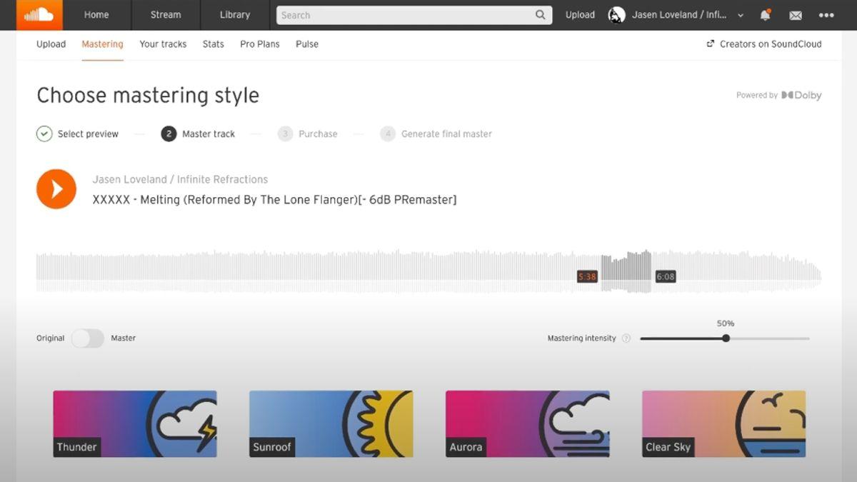 В SoundCloud появился мастеринг Mastering On SoundCloud