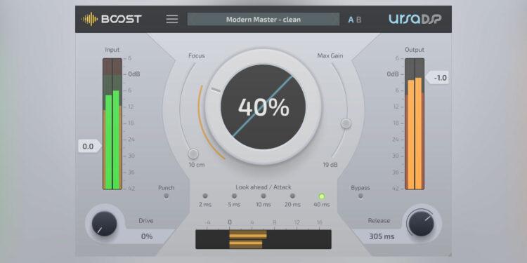 VST-максимайзер UrsaDSP Boost