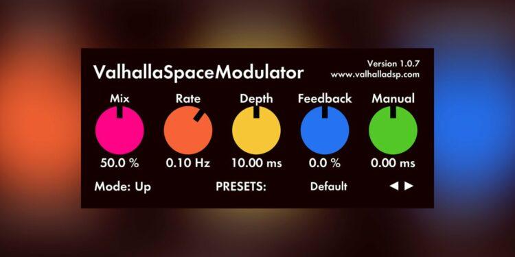 Бесплатный плагин ValhallaDSP Space Modulator