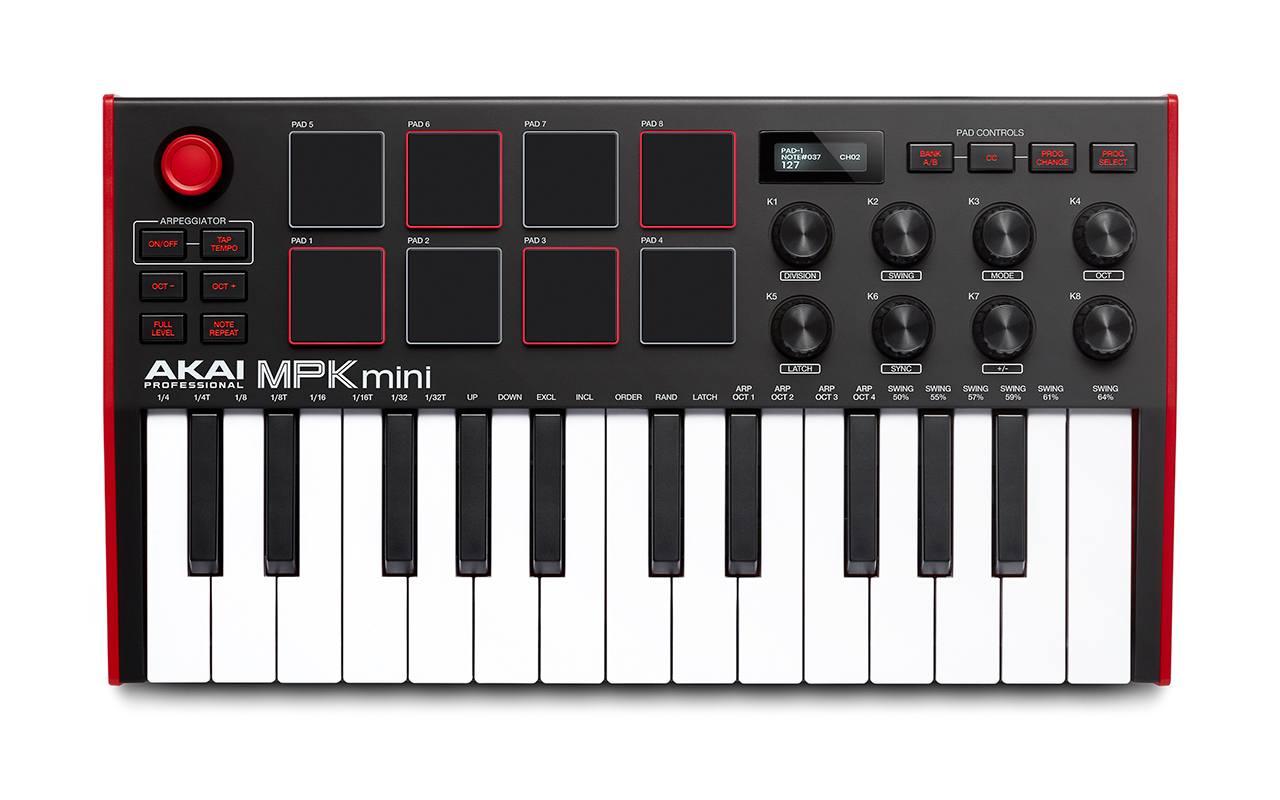 Akai MPK mini mk3 новая компактная MIDI-клавиатура
