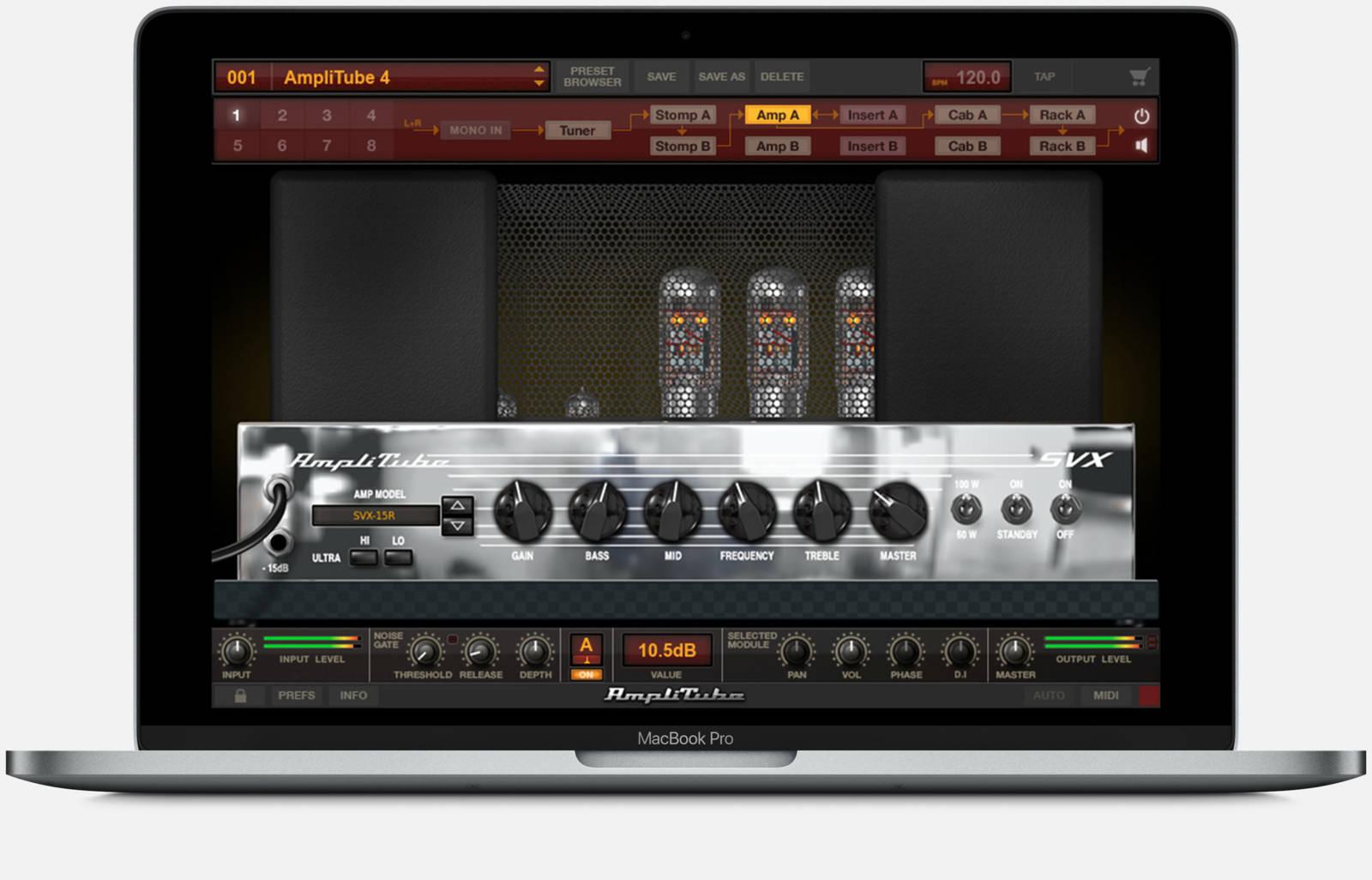 IK Multimedia AmpliTube Ampeg SVX скачать бесплатно