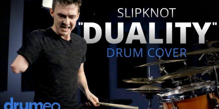Однорукий барабанщик Джек Томас исполнил барабанный кавер на Slipknot Duality