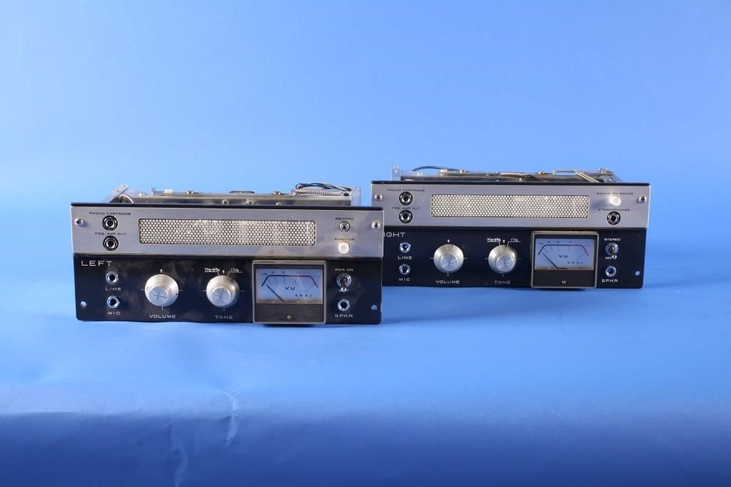 Akai M-8 Tube Preamplifiers