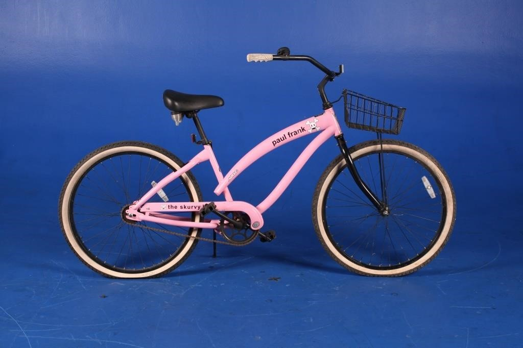 Pink Bicycle Gift from Paul Frank