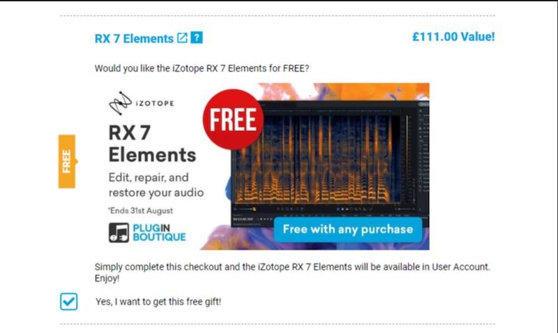 iZotope RX 7 Elements скачать бесплатно
