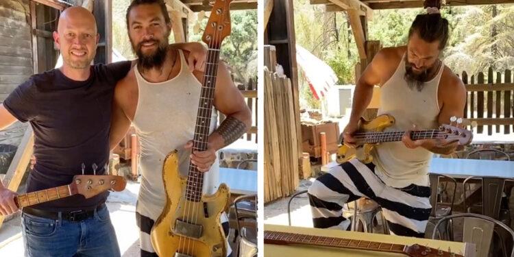 Fender Precision Джейсона Момоа