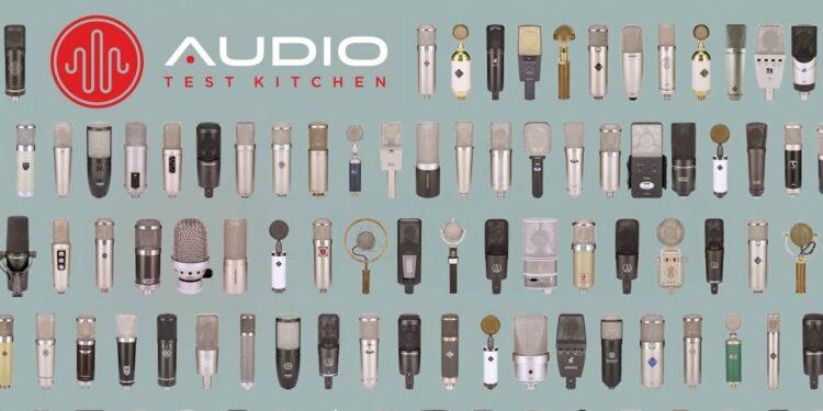 Audio Test Kitchen сервис сравнения микрофонов