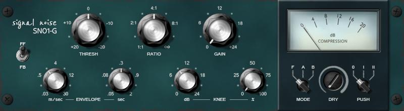 Sender Spike SN01-G VCA Compressor