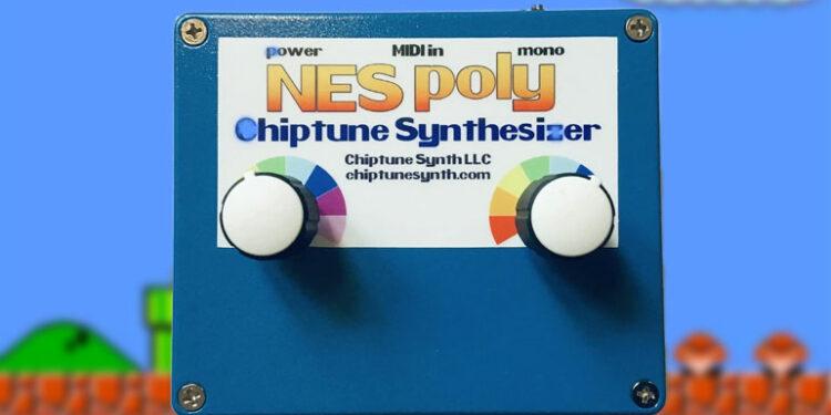 Синтезатор NES Poly Chiptune Synthesizer