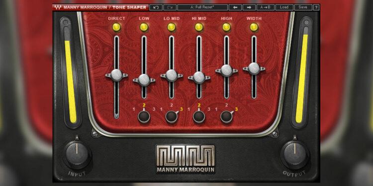 Waves Manny Marroquin Tone Shaper бесплатно