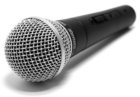 Динамический микрофон Shure SM58
