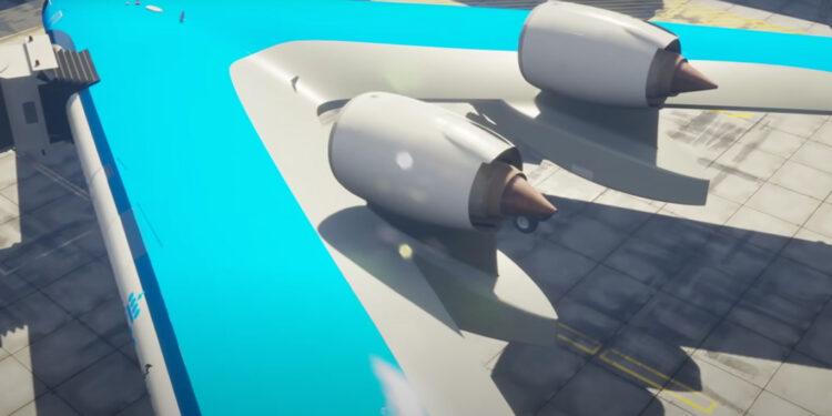 Самолет Flying-V