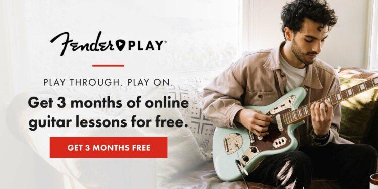 Fender Play 3 месяца бесплатно октябрь 2020