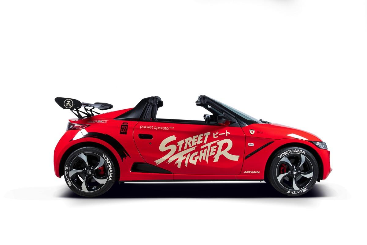 Honda C660 Street Fighter Capcom Teenage Engineering (5)