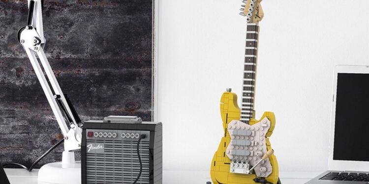 LEGO Ideas Fender Stratocaster