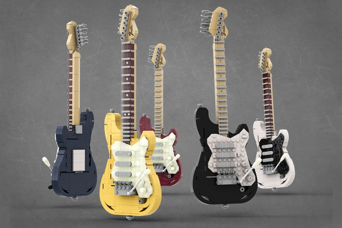 Набор LEGO Ideas Fender Stratocaster