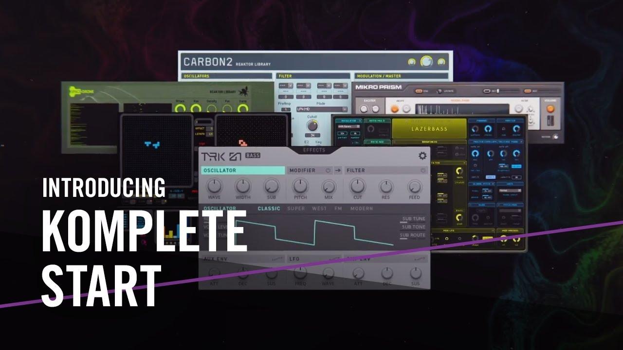 Native Instruments Komplete Start Audio Plugin Deals