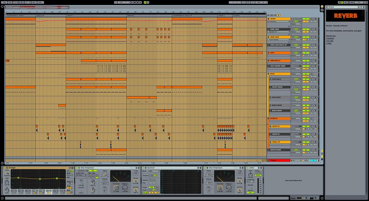Хоррор-синтезаторы для Ableton Live 9