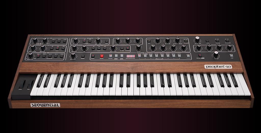 Синтезатор Sequential Prophet-10