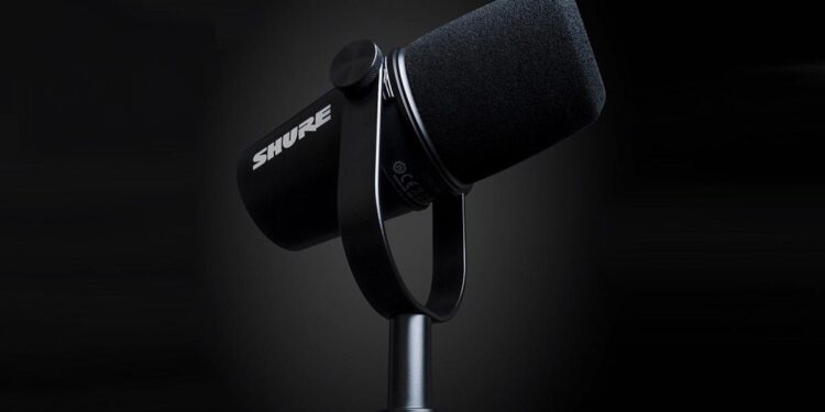 Микрофон Shure MV7 Podcast Microphone