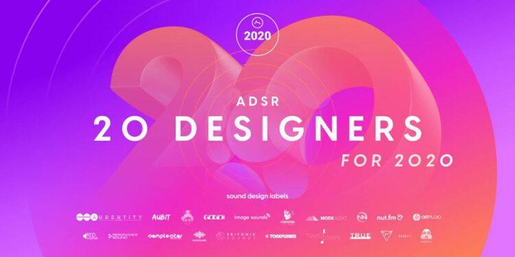 Бесплатные сэмпл-паки ADSR 20Designers for 2020