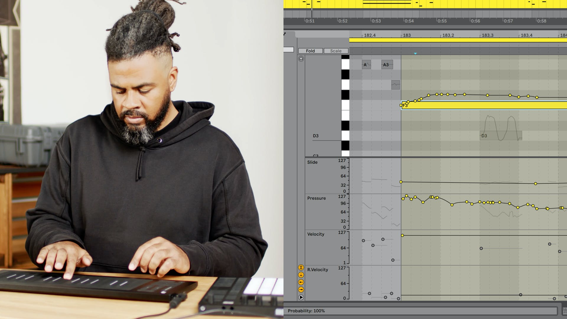 Ableton Live 11 MIDI MPE