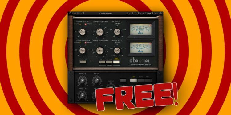 Блог Audio Plugin Guy делится эксклюзивными кодами на загрузку dbx 160 CompressorLimiter от Waves