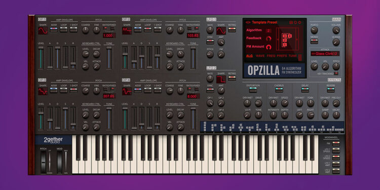FM-синтезатор 2getheraudio OpZilla
