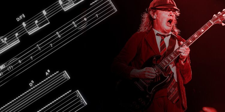 Гитарные приемы AC/DC