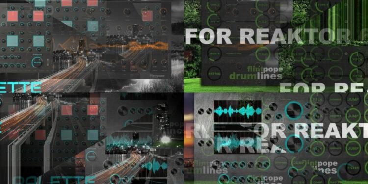 Коллекция бесплатных дополнений для NI Reaktor от Flintpope