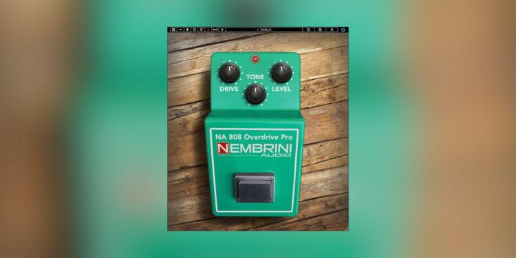 Nembrini Audio NA 808 Overdrive Pro