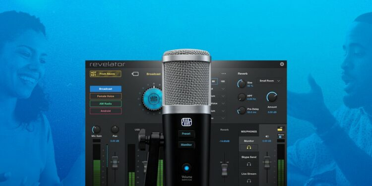 PreSonus Revelator USB микрофон для подкастов