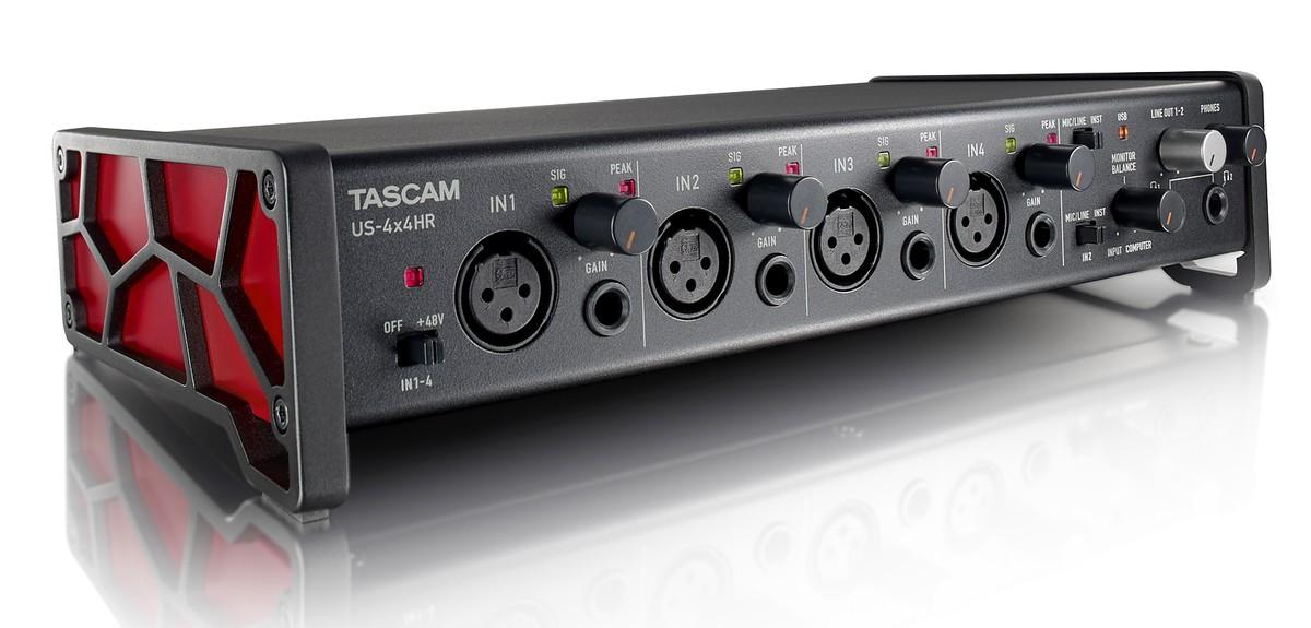 Аудиоинтерфейс Tascam US-4x4HR