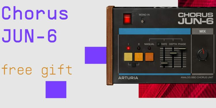 Arturia Chorus JUN-6 скачать бесплатно до 29 декабря 2020