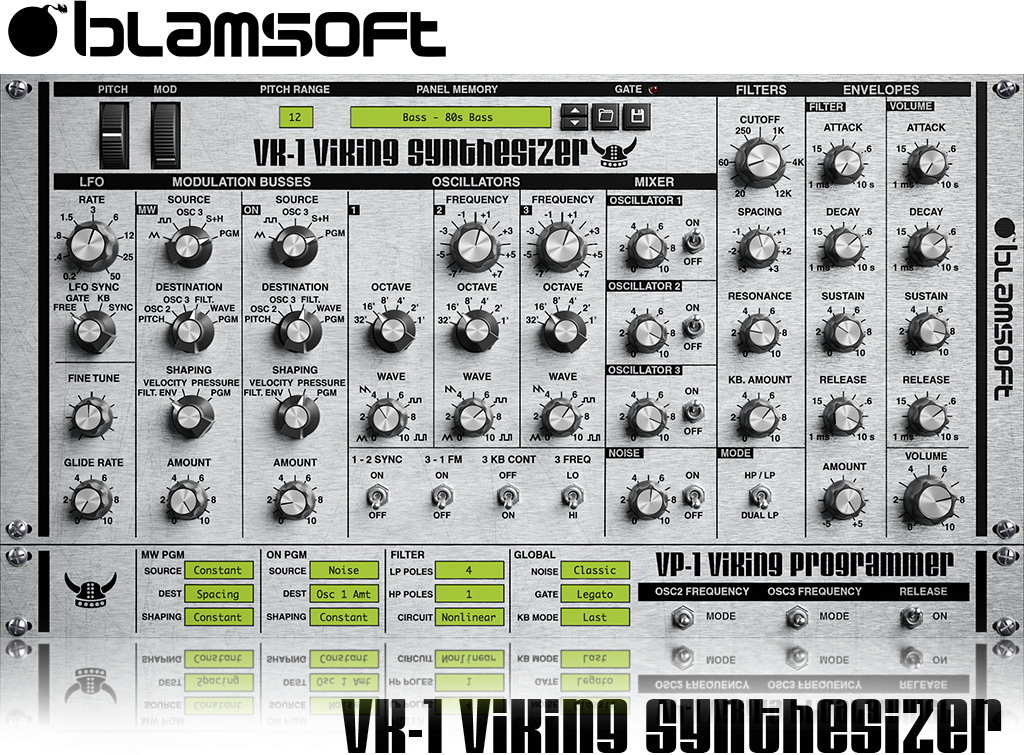 Blamsoft VK-1 Viking Synthesizer
