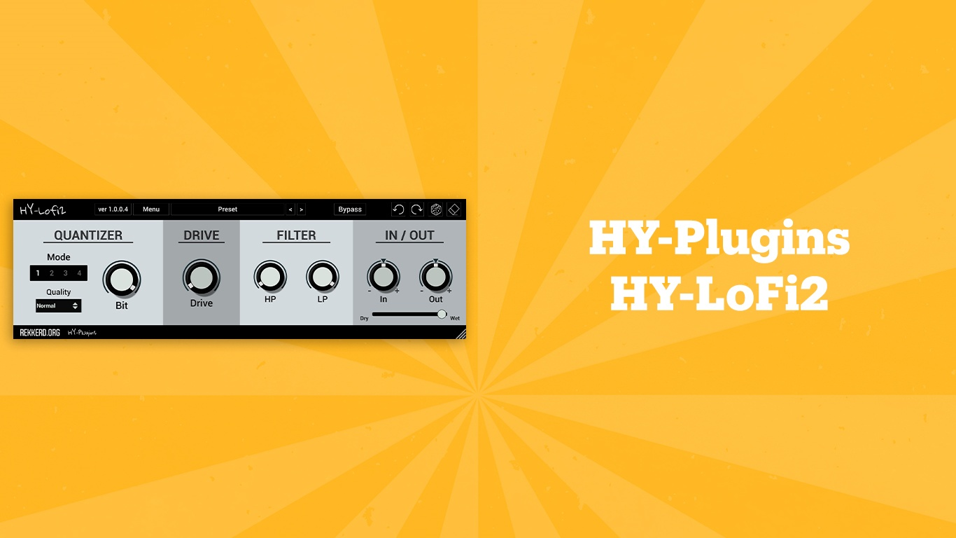 HY-Plugins HY-LoFi2